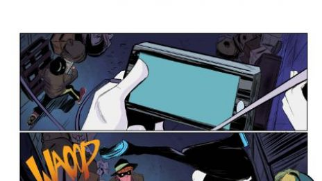 Spider-Gwen #1 preview art by Robbi Rodriguez