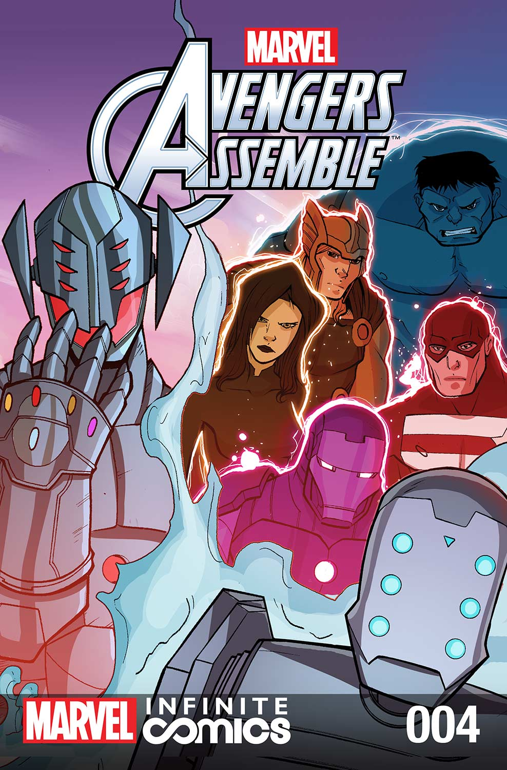 Marvel Universe Avengers: TBD Infinite Comic (2016) #4