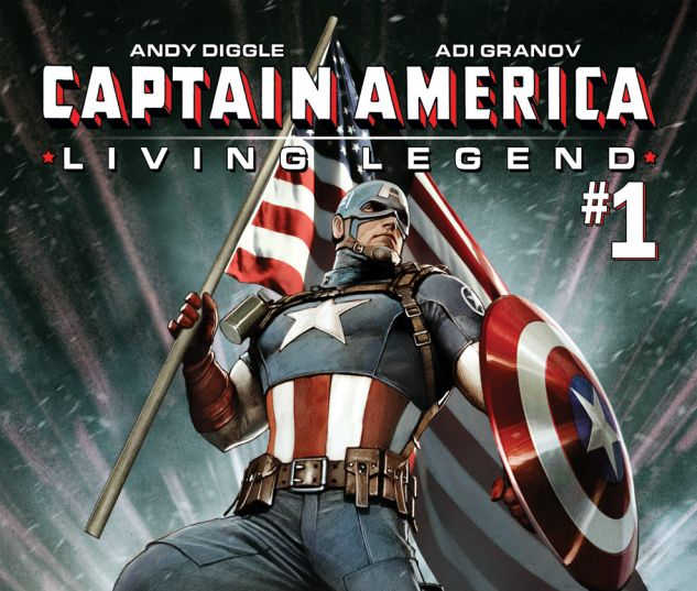 CAPTAIN AMERICA: LIVING LEGEND (2010) #1 Cover