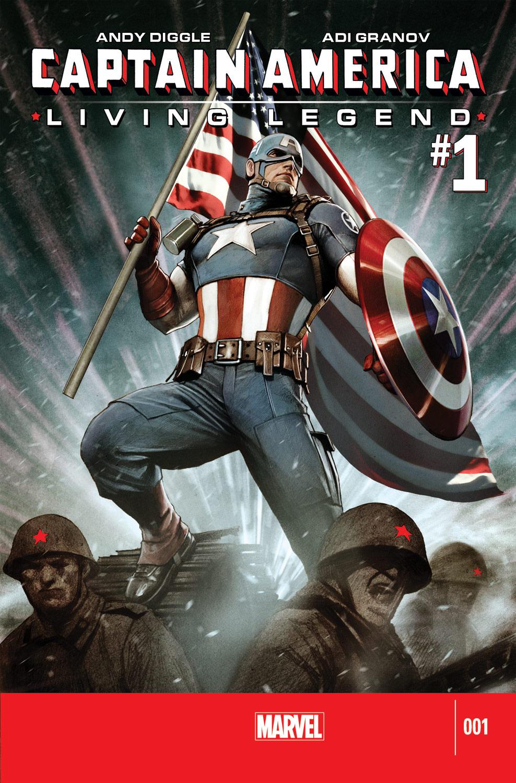 Captain America: Living Legend (2010) #1