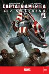 CAPTAIN AMERICA: LIVING LEGEND (2010) #1 Cover