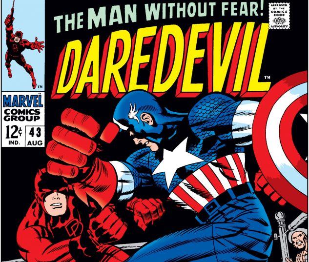 DAREDEVIL (1964) #43 Cover