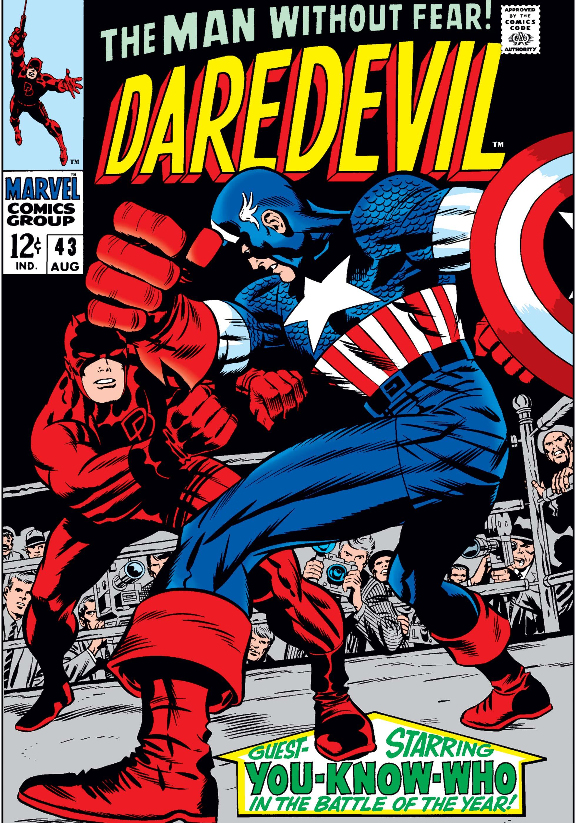 Daredevil (1964) #43