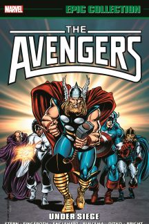 Avengers Epic Collection: Under Siege (Trade Paperback)