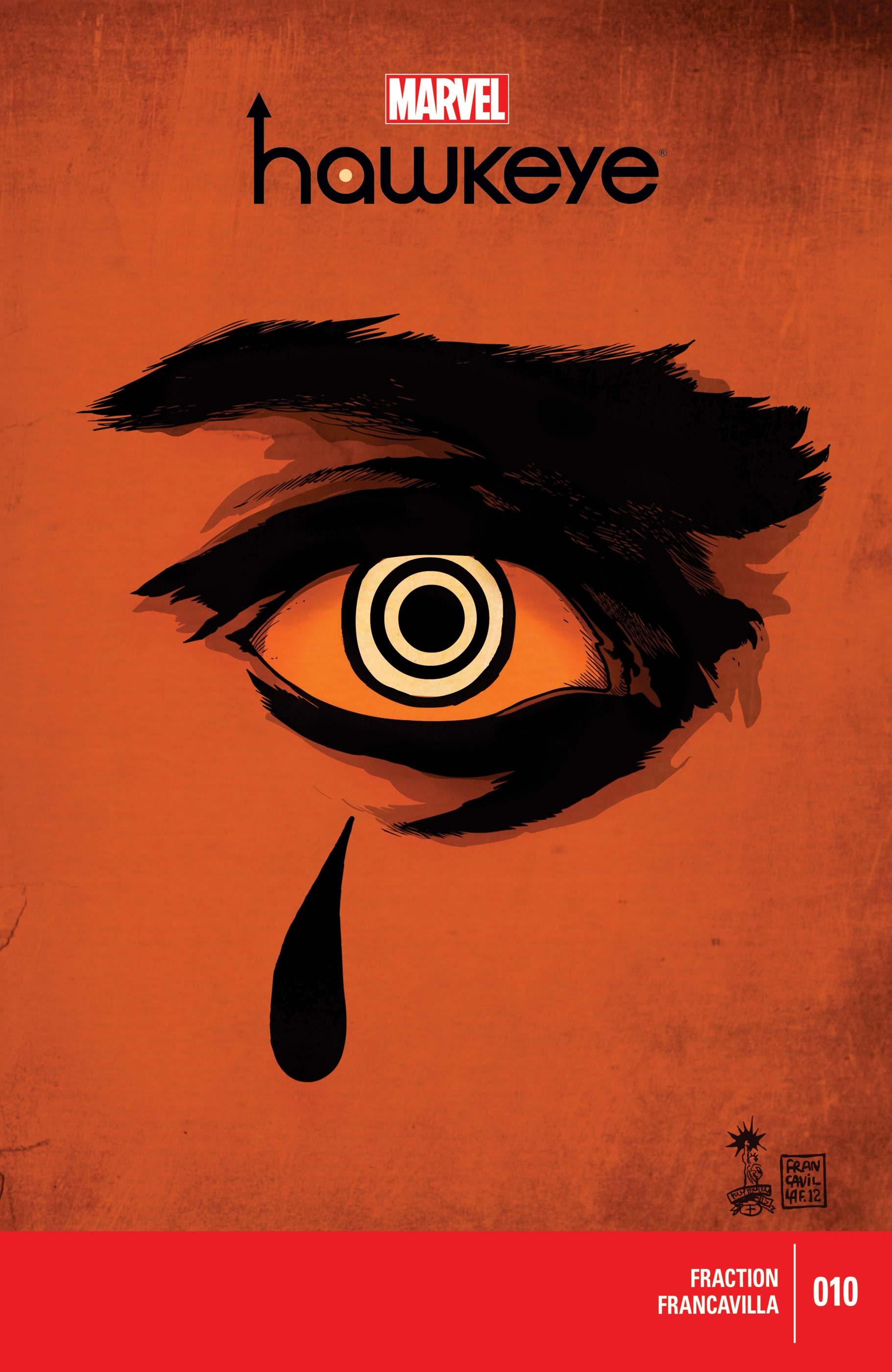 Hawkeye (2012) #10