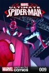 cover from Ultimate Spider-Man Infinite Comic (2016) #9