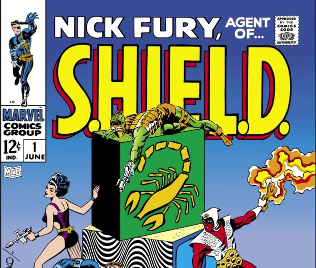 NICK_FURY_AGENT_OF_SHIELD_1968_1