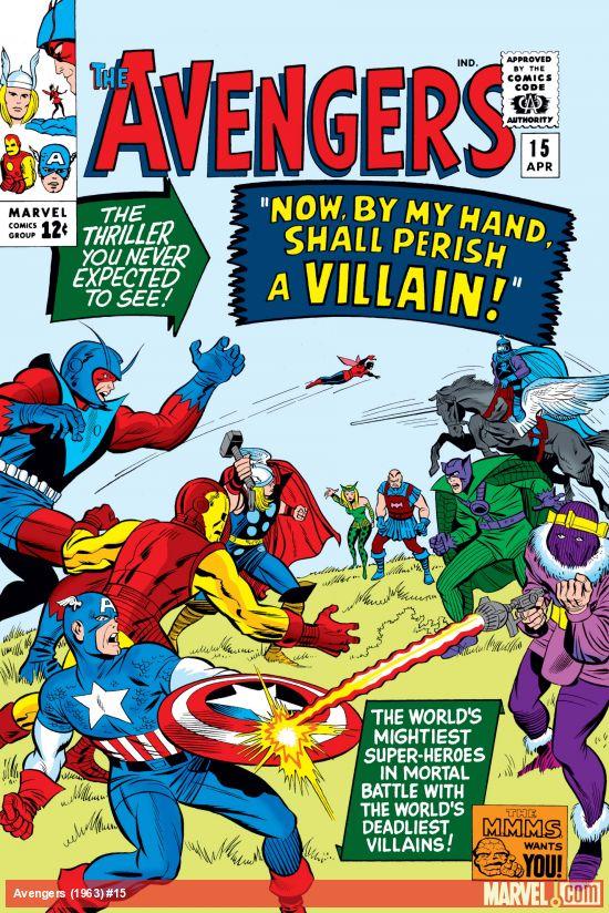 Avengers (1963) #15