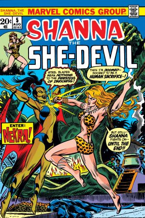 Shanna the She-Devil (1972) #5
