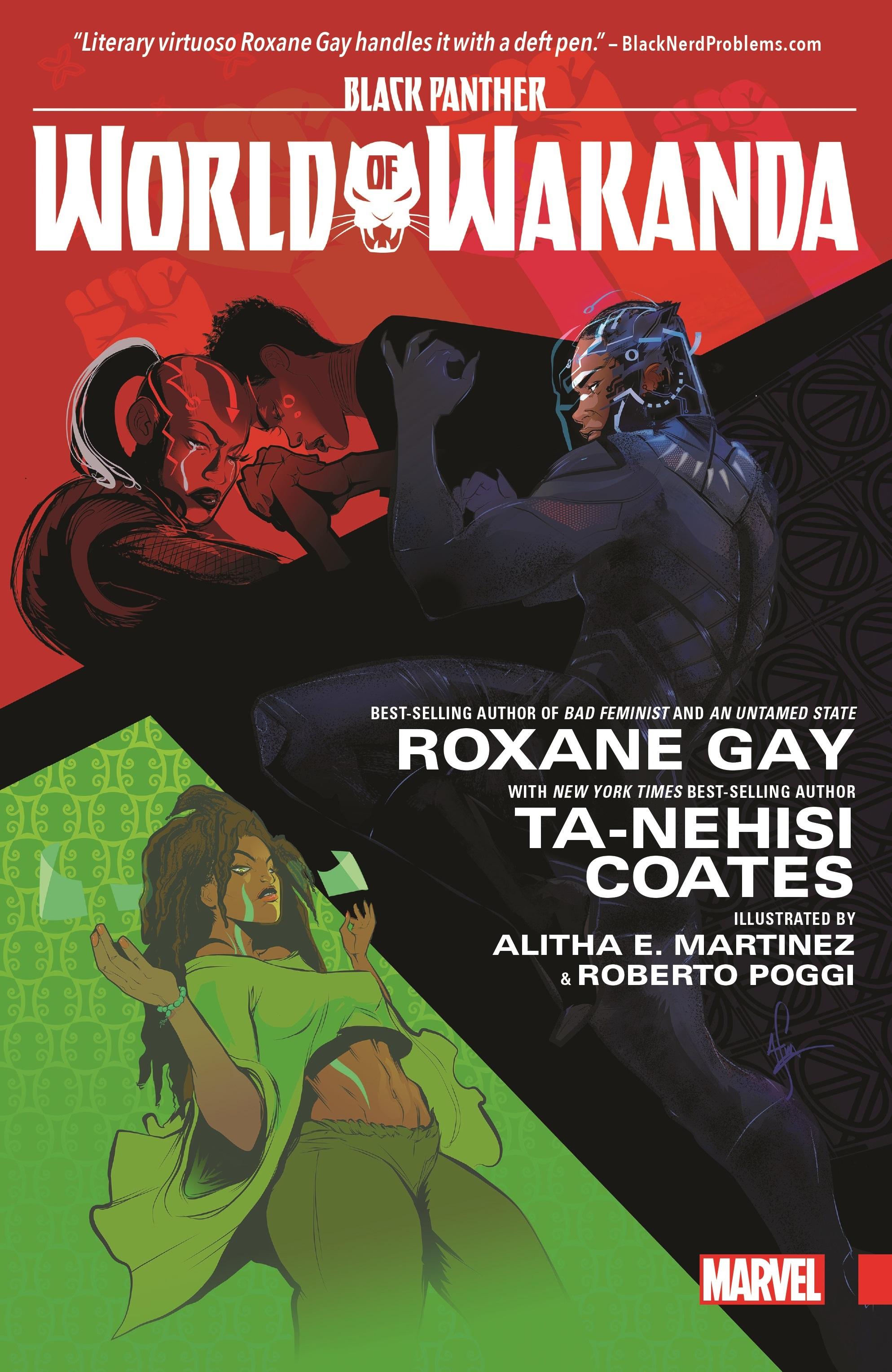 Black Panther World of Wakanda Marvel Graphic Novel Comic Book