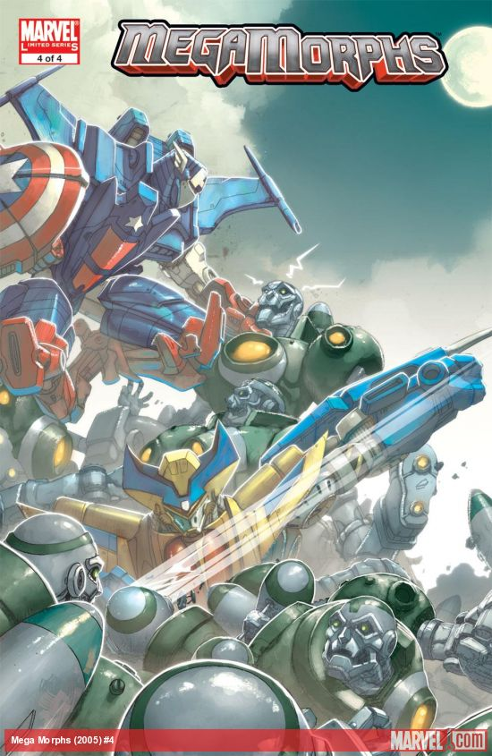 Mega Morphs (2005) #4