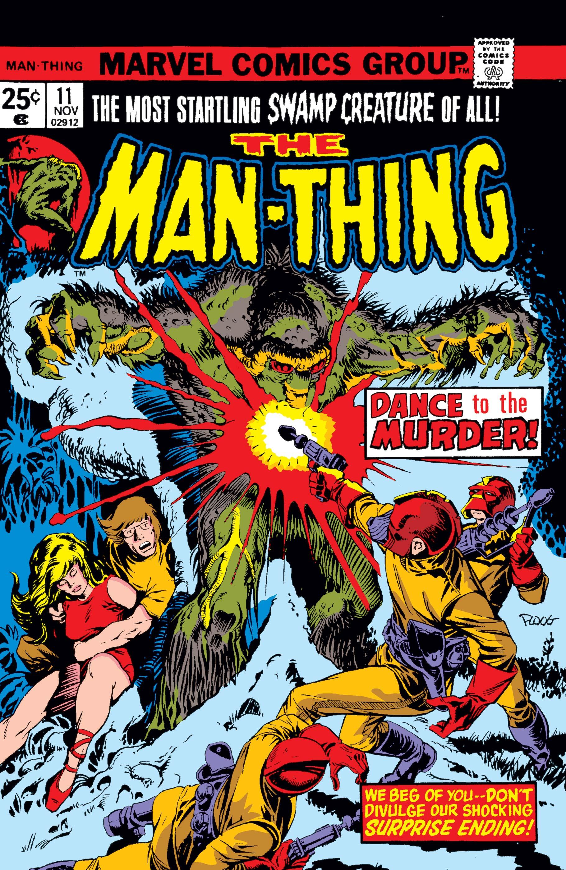 Man-Thing (1974) #11