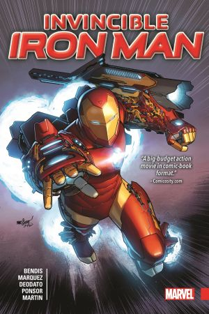 Invincible Iron Man by Brian Michael Bendis (Hardcover)