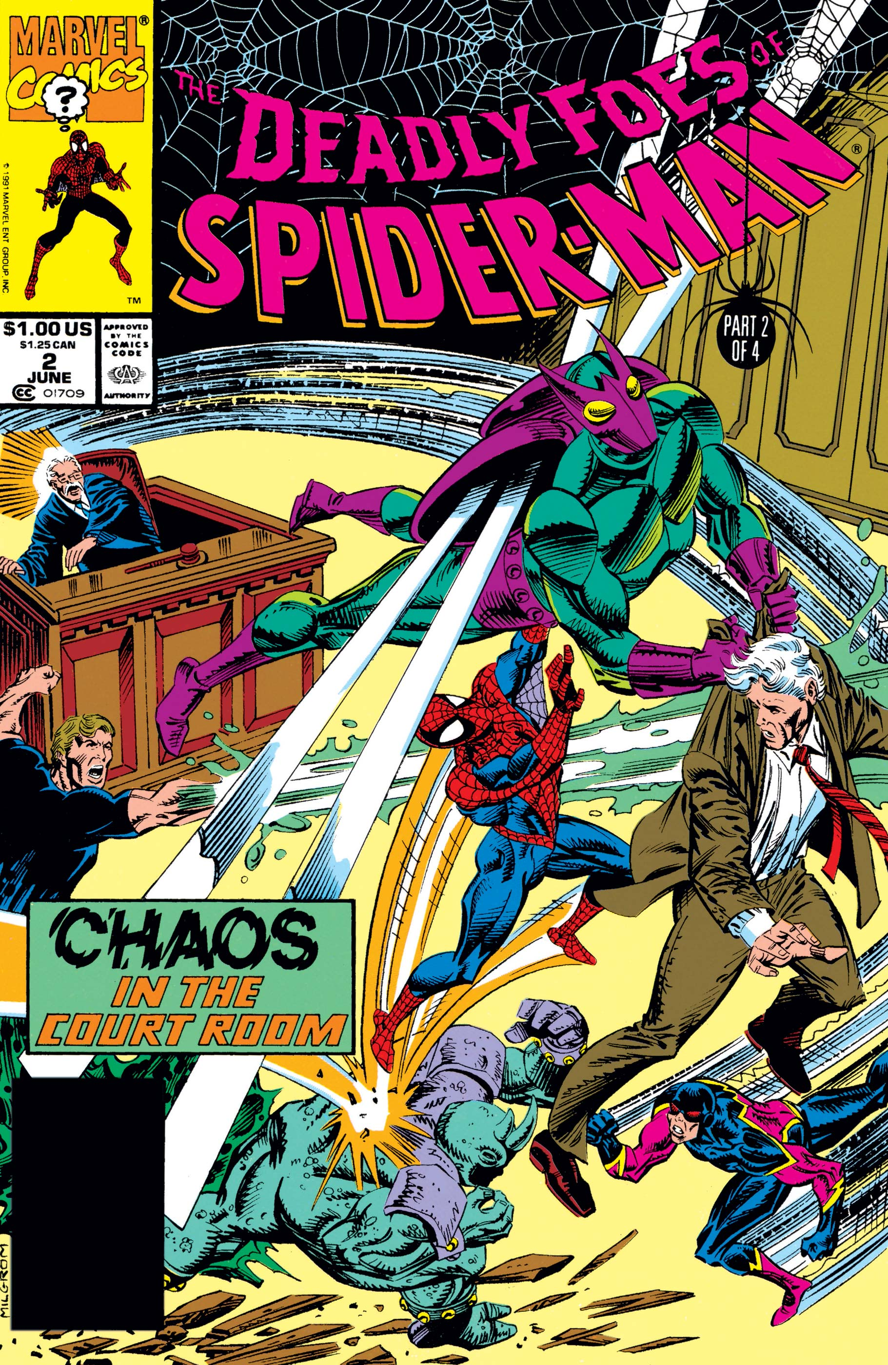 Deadly Foes of Spider-Man (1991) #2