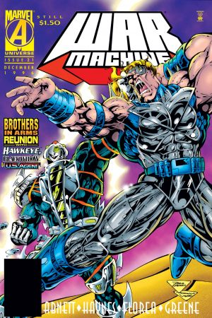 War Machine (1994) #21