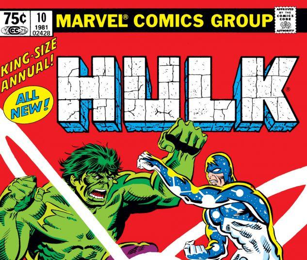 NCREDIBLE HULK ANNUAL (1968) #10