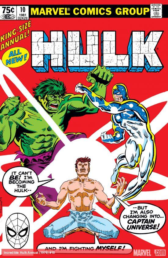 Incredible Hulk Annual (1968) #10