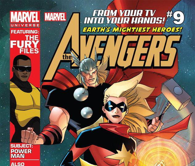 Marvel Universe AVENGERS: EARTH'S MIGHTIEST HEROES  #9