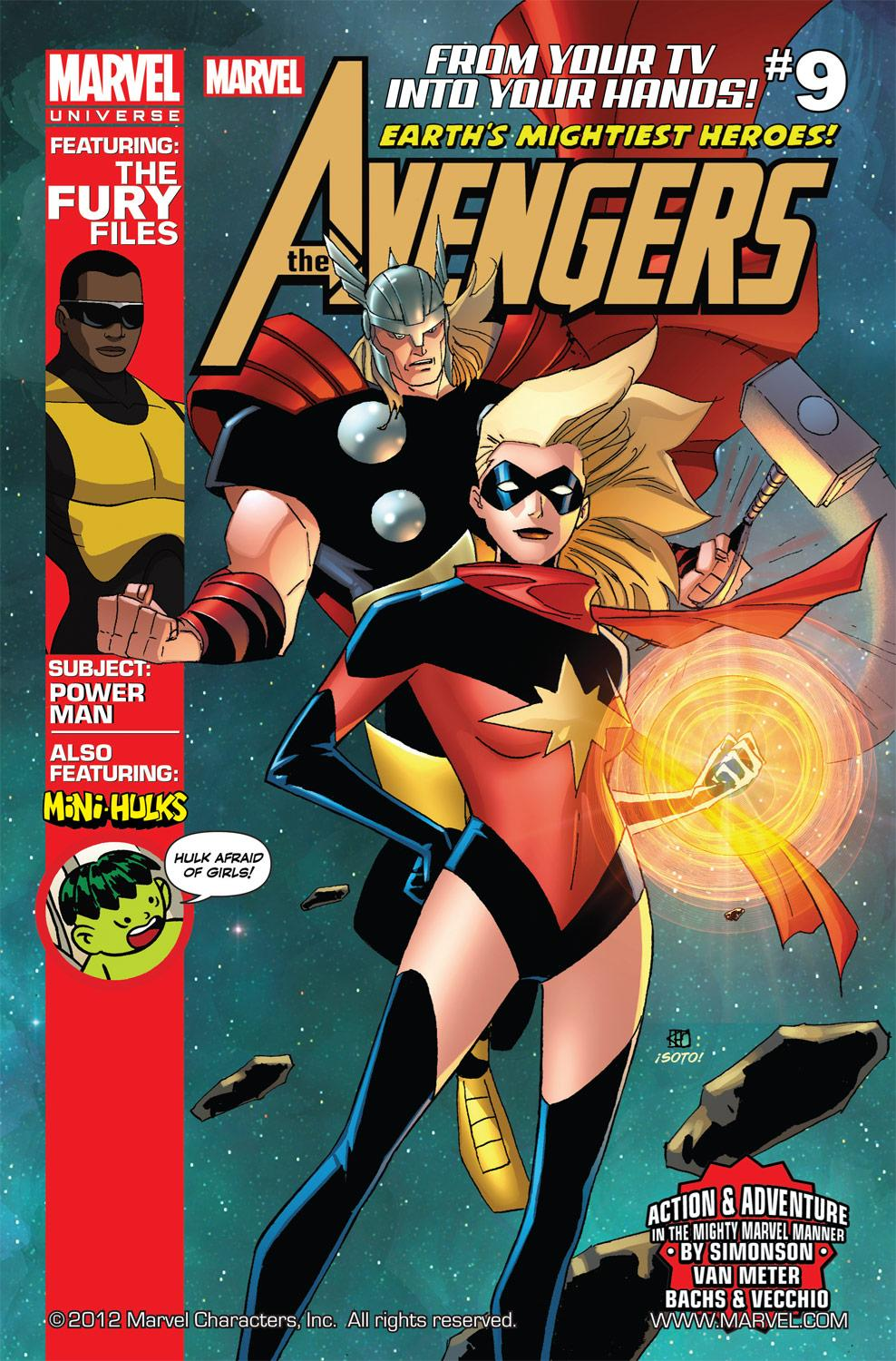 Marvel Universe Avengers: Earth's Mightiest Heroes (2012) #9