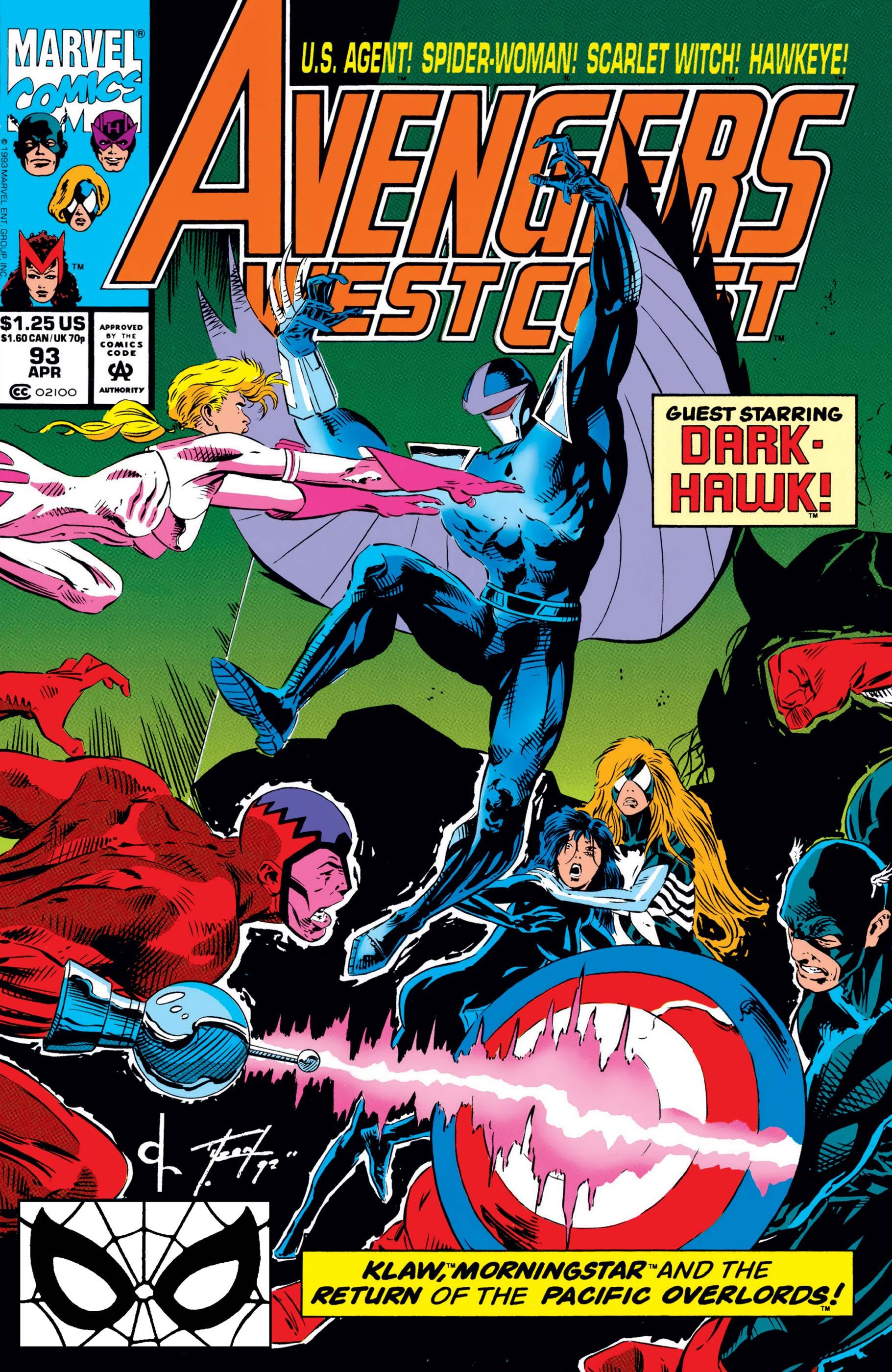 West Coast Avengers (1985) #93
