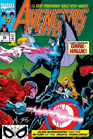 West Coast Avengers #93