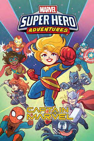 Marvel Super Hero Adventures Captain Marvel (Trade Paperback)