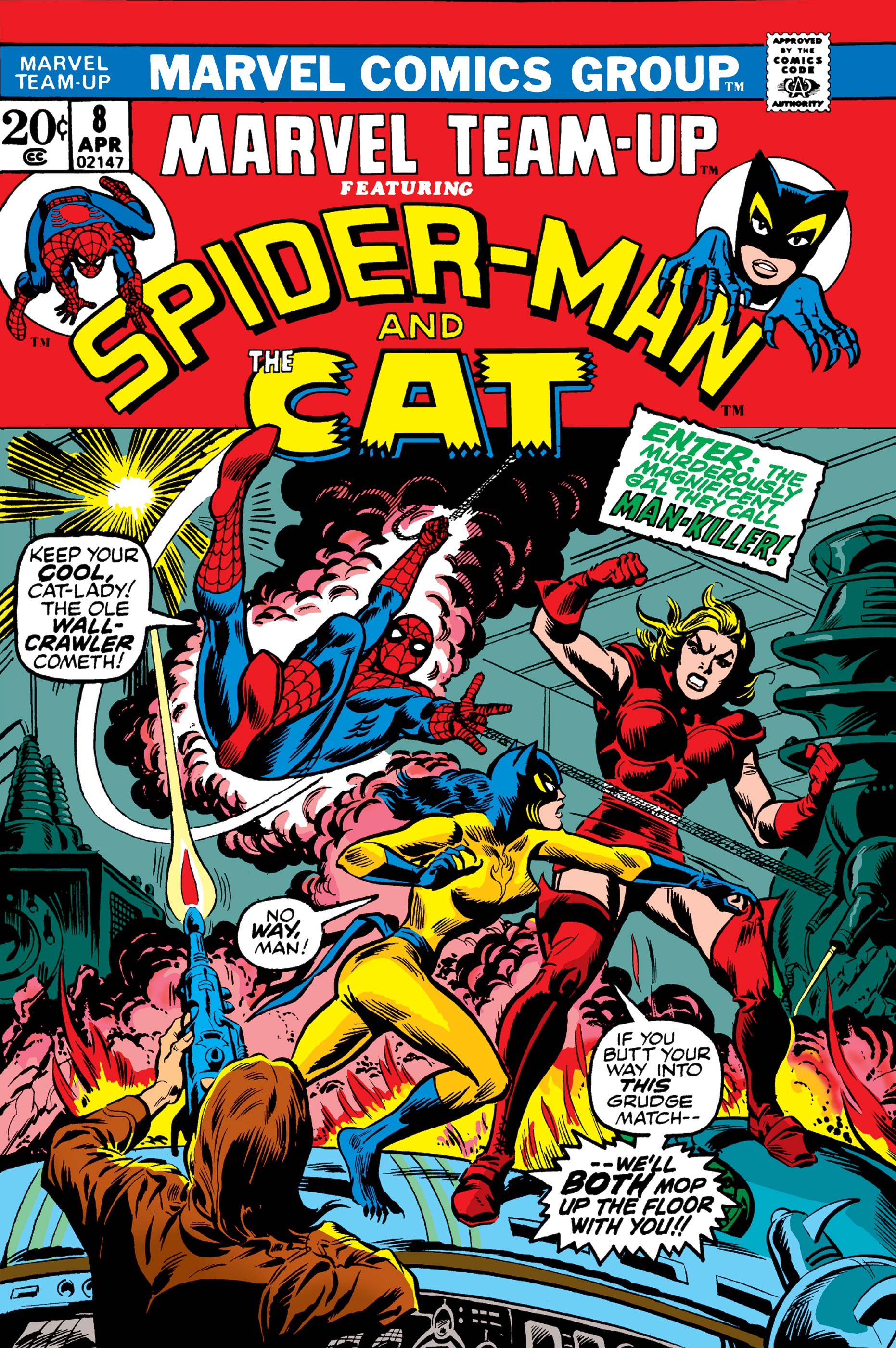 Marvel Team-Up (1972) #8