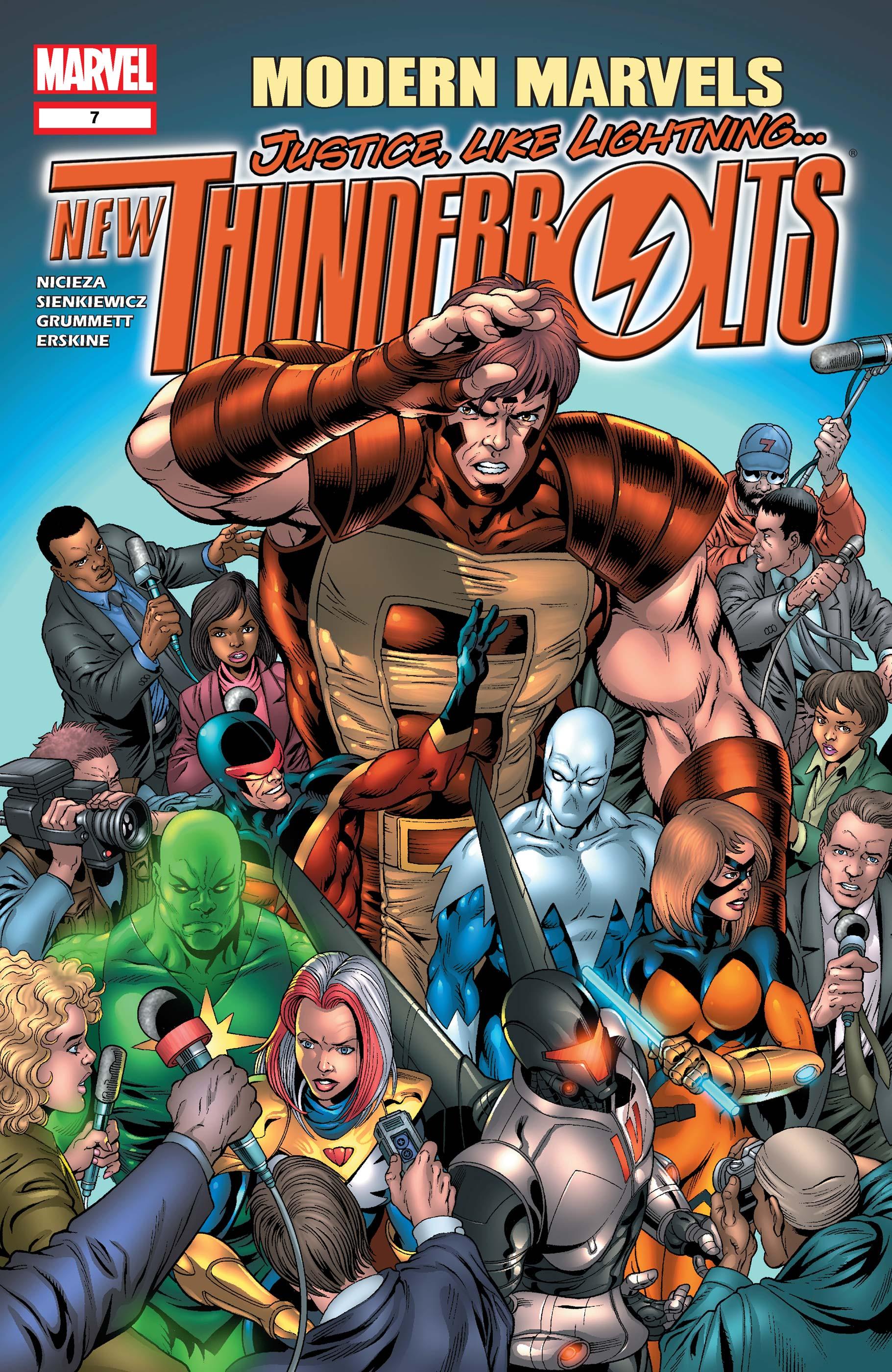 New Thunderbolts (2004) #7