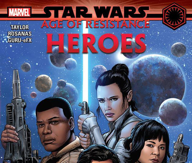 STAR WARS: AGE OF RESISTANCE - HEROES TPB #1