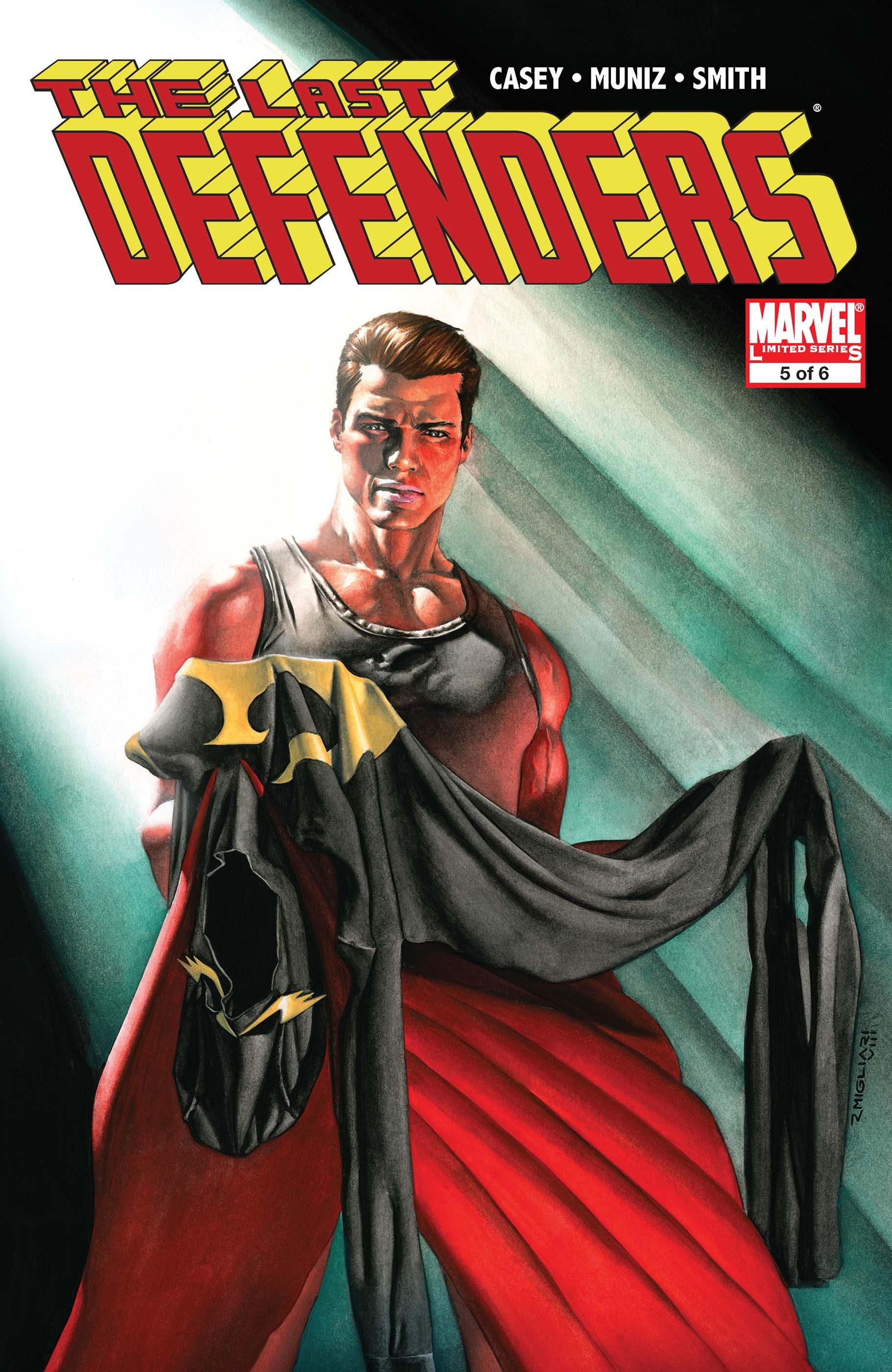 The Last Defenders (2008) #5