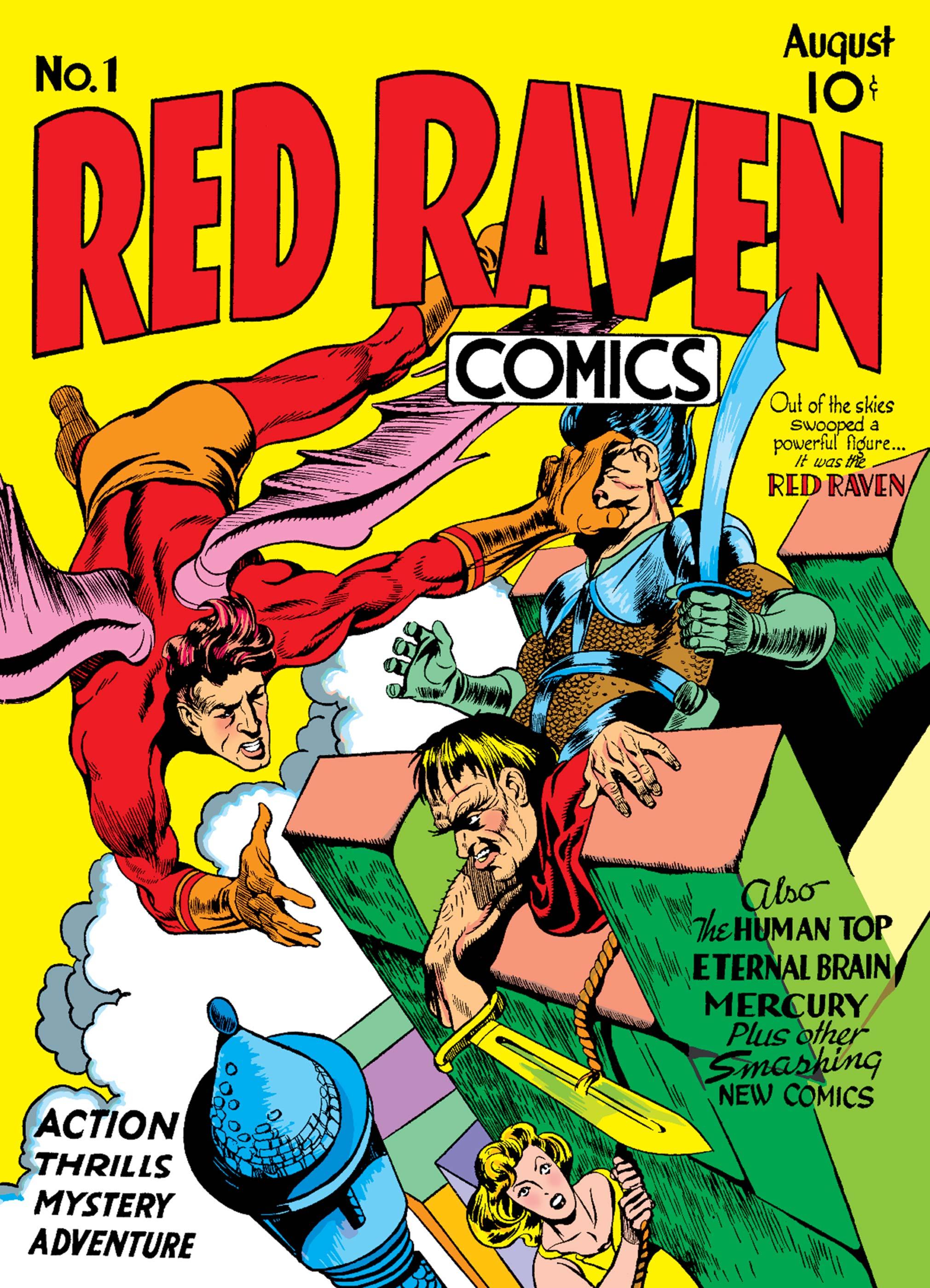 Red Raven Comics (1940) #1