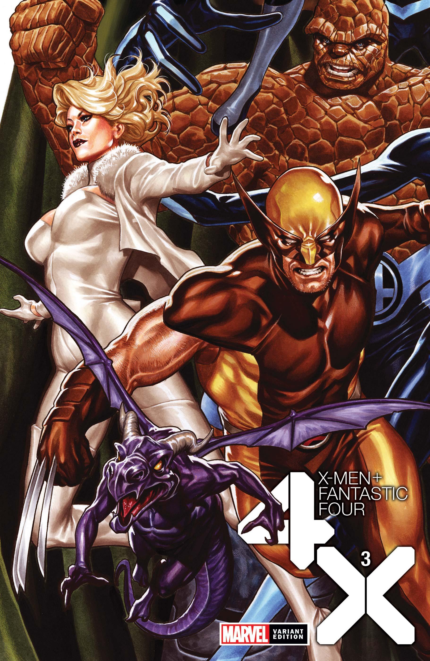 X-Men/Fantastic Four (2020) #3 (Variant)
