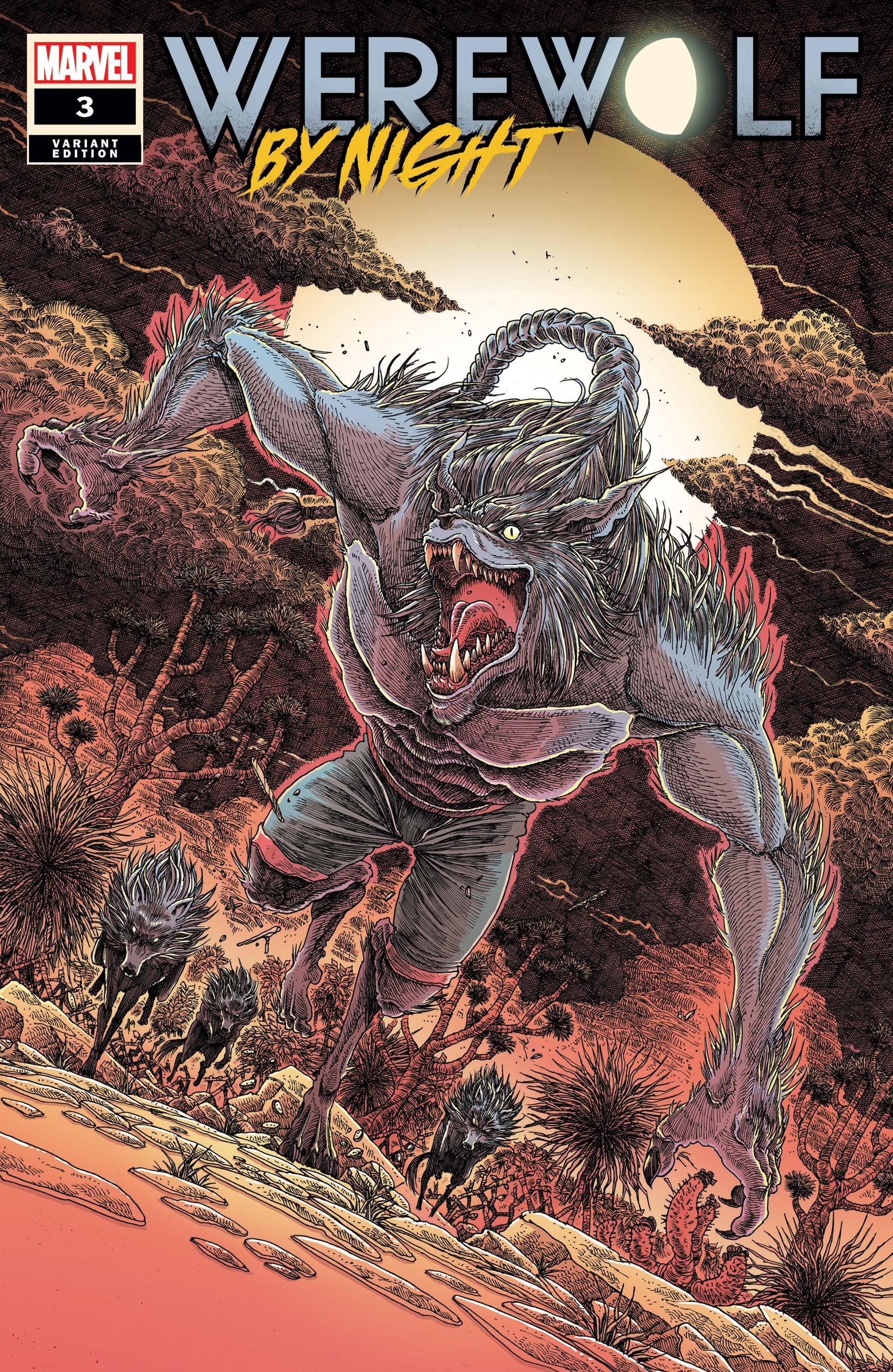 Werewolf by Night (2020) #3 (Variant)
