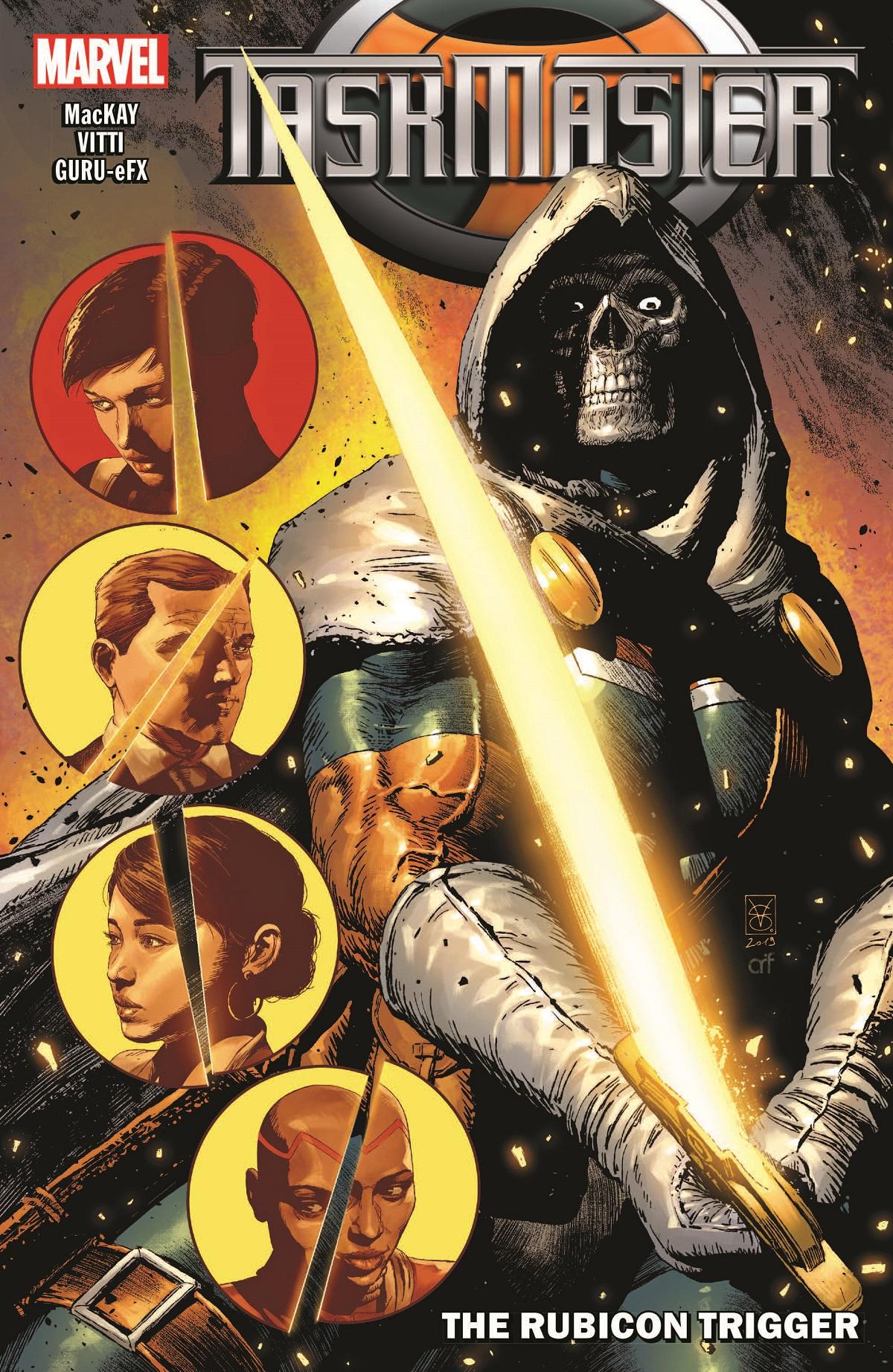 Taskmaster: The Rubicon Trigger (Trade Paperback)