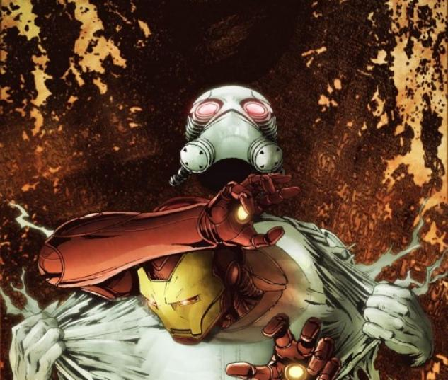INVINCIBLE IRON MAN #23 50/50 Cover by Patrick Zircher