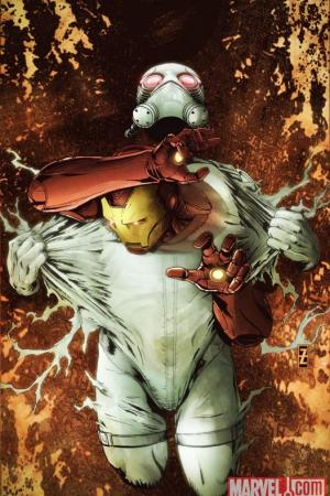 Invincible Iron Man (2008) #23 (50/50 VARIANT)