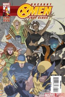 Uncanny X-Men: First Class #4