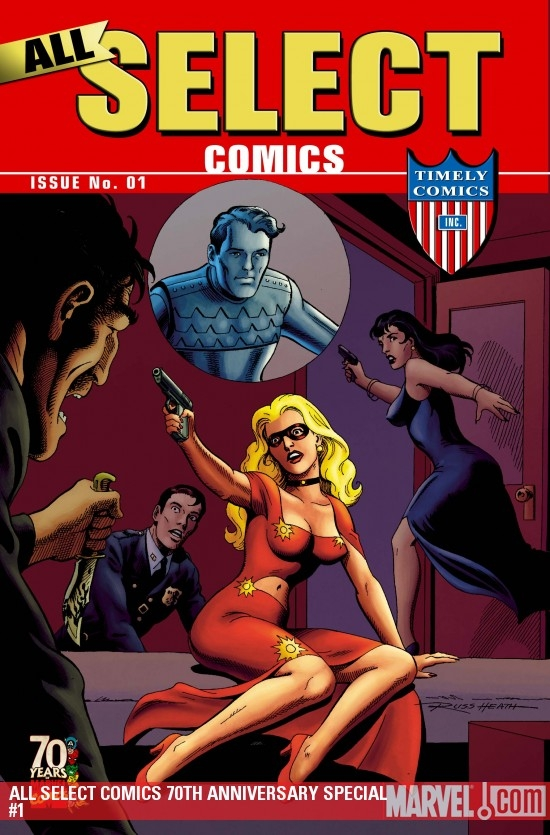 All Select Comics 70th Anniversary Special (2009) #1