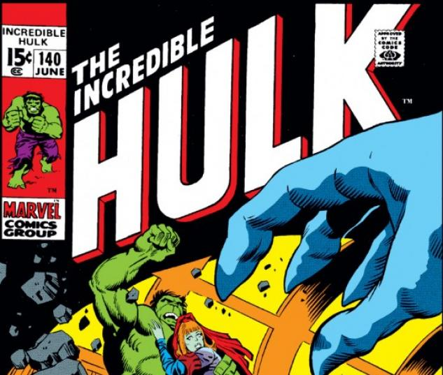 INCREDIBLE HULK #140 COVER