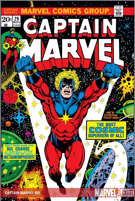 Captain Marvel (1968) #29