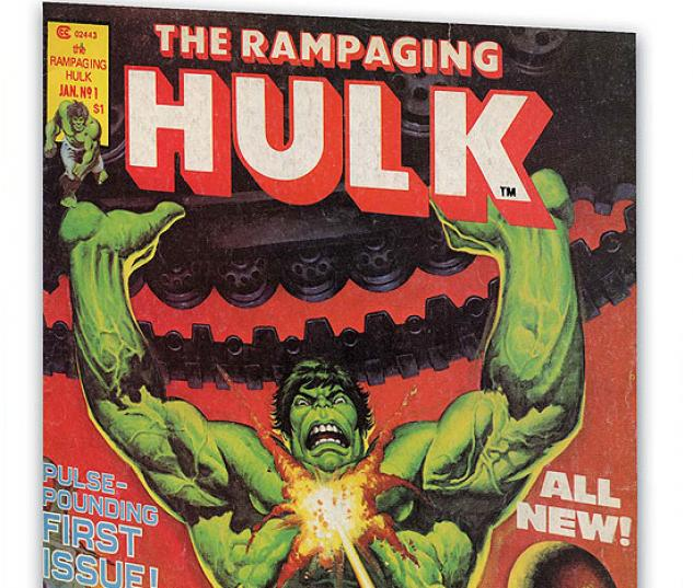 ESSENTIAL RAMPAGING HULK VOL. 1 #0