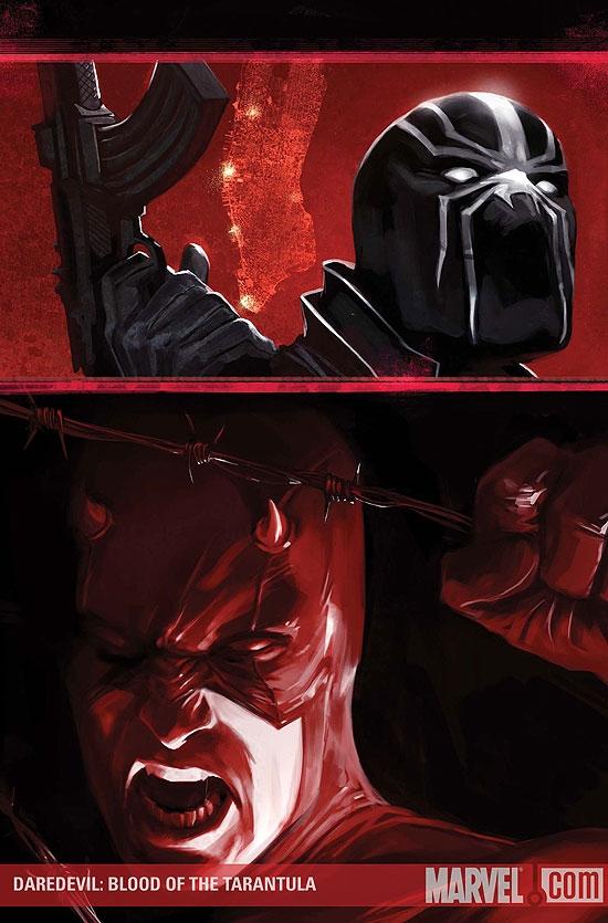 Daredevil: Blood of the Tarantula (2008) #1