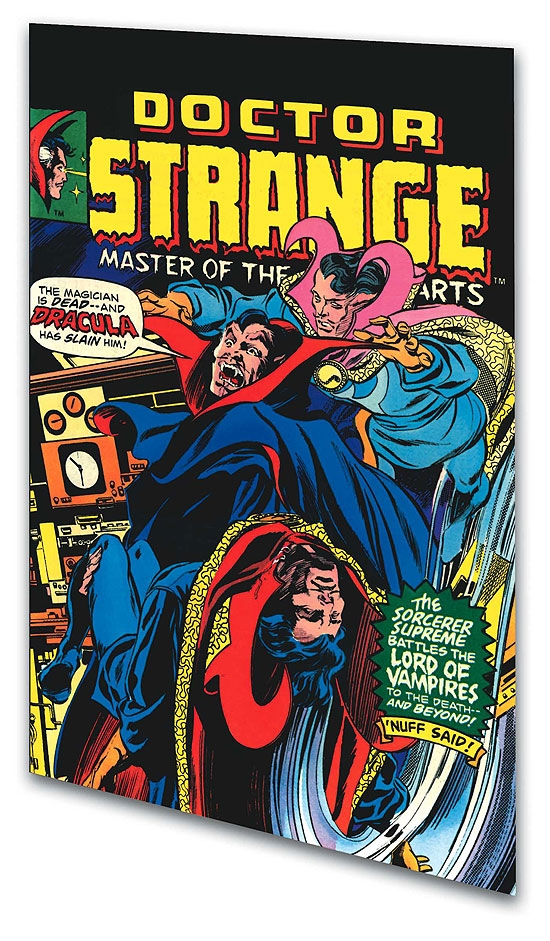 Doctor Strange Vs. Dracula: The Montesi Formula (Trade Paperback)