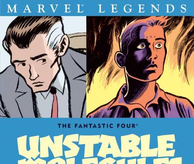 FANTASTIC FOUR: UNSTABLE MOLECULES TPB COVER