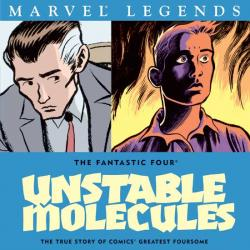 FANTASTIC FOUR: UNSTABLE MOLECULES TPB COVER