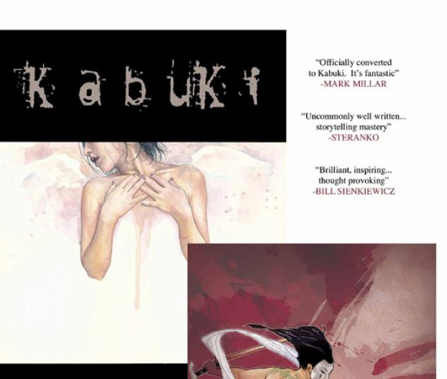 KABUKI (2006) #4 COVER