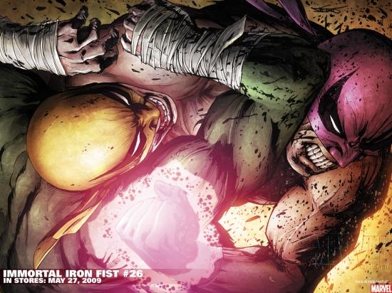 Immortal Iron Fist (2006) #26 Wallpaper