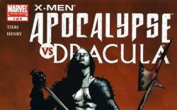 X-MEN: APOCALYPSE/DRACULA #1 cover by Jae Lee