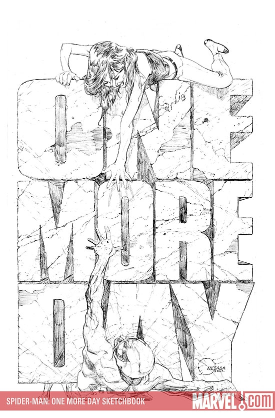 Spider-Man: One More Day Sketchbook (2007) #1