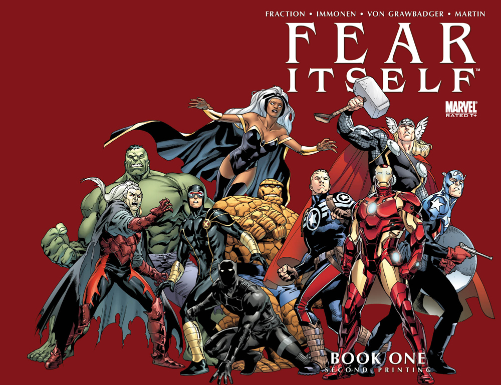 Fear Itself (2010) #1 (2nd Printing Variant)